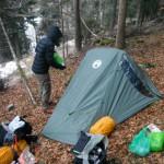 Zelten im Winter - das Equipment ist entscheidend!