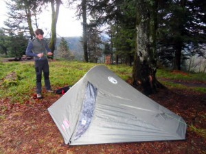 Zelten im Winter - mit dem richtigen Zelt hat man schon mal die halbe Miete!