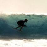 Surfen am Riff von T-Land in Rote