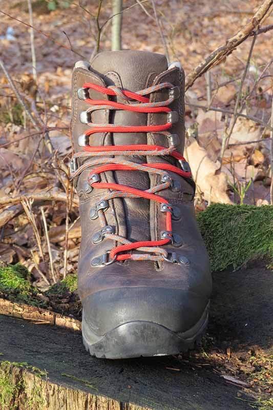 Schuhweite anpassen