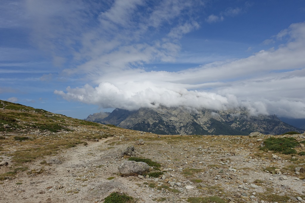 Fernwanderweg GR 20 auf Korsika. 10. Etappe von Vizzavona zum Refuge de Capannelle