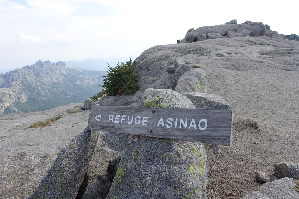 Fernwanderweg GR 20 auf Korsika. 13. Etappe vom Refuge d`Usciolu zum Refuge d' Asinao