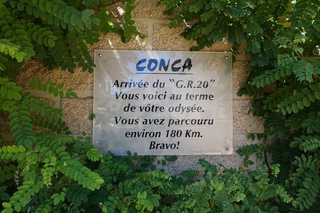 Fernwanderweg GR 20 auf Korsika. 15. Etappe vom Refuge de Paliri nach Conca