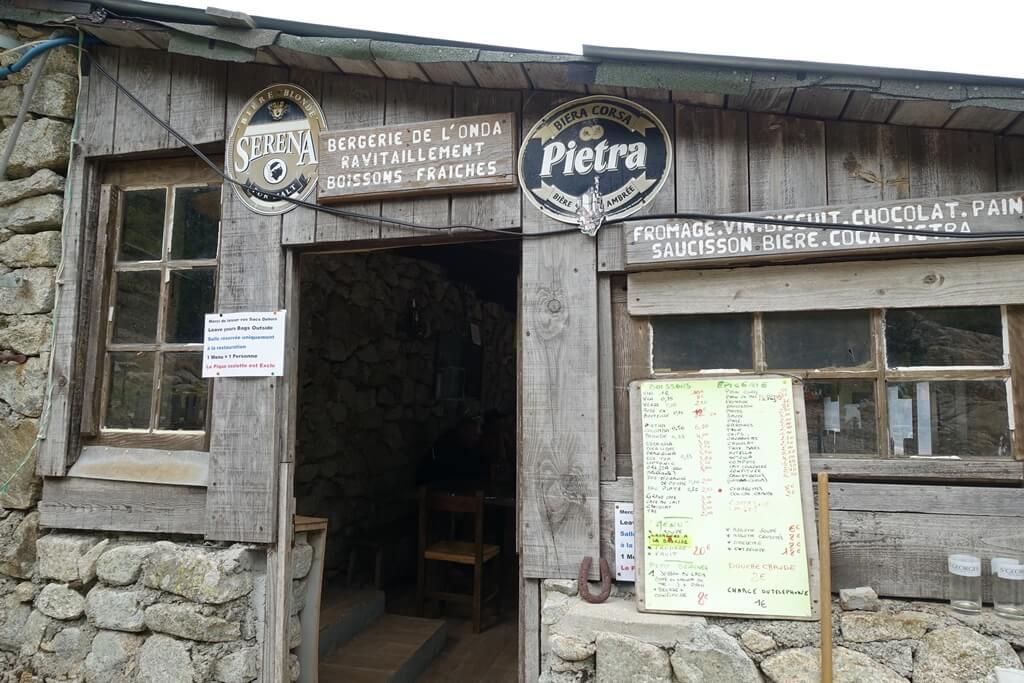 Fernwanderweg GR 20 auf Korsika. 9. Etappe vom Refuge de l'Onda nach Vizzavona