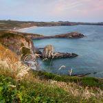Etappe 10 Pembrokeshire Coast Path St. Non´s Whitesands Bay