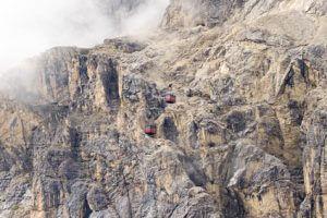 Etappe 3 auf dem Dolomiten Höhenweg Nr. 1 zum Lago Lagazuoi