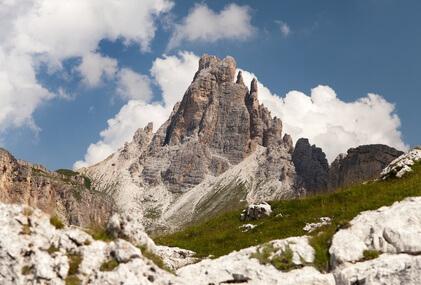 Dolomiten-Höhenweg 1. Vierte Etappe von Lagazuoi nach Croda da Lago