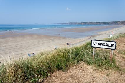 Etappe 8 Pembrokeshire Coast Path St.Bride´s Haven Newgale