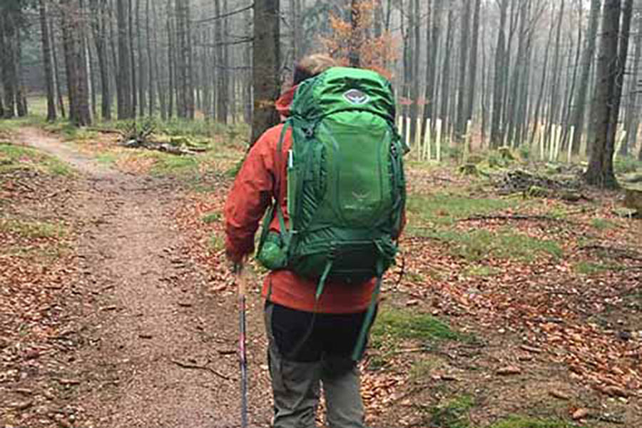 Osprey Herren Kestrel 38 Hiking Pack