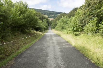 Leichte Etappe von 20 km auf der Jakobsweg Route. Einfacher Weg auf dem Pilgerweg in Spanien