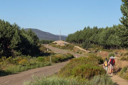 Ziel der 22. Etappe - Rabanal del Camino. Immer wieder Abwechslung auf der Jakobsweg Karte.