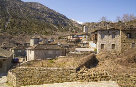 Tsepelovo, des Ziel der 3. Etappe des Zagoria Trek