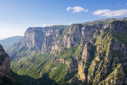 Wieder in Papigo, das Ziel der 6. Etappe vom Zagoria Trek in Griechenland.