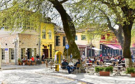 Wieder in Ioannina, dem letzten Ziel des Zagoria Treks.
