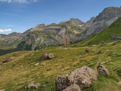 Heute geht es auf der zehnten Etappe des Pyrenäen Wanderwegs nach Logibar.