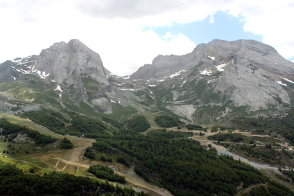 Gourette wartet am Ende der 16. Etappe auf dem Pyrenäen Wanderweg GR 10