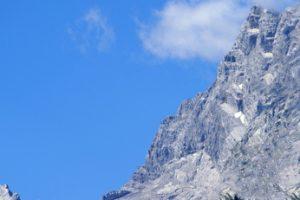 Die Südspitze - Herausforderung bei der Watzmann Überschreitung. Gratwanderung Watzmann.