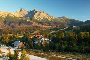 Tatranska Lomnica - Start der Tatra-Überschreitung