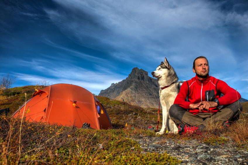 Im Zelt mit Deinem Hund » Camping Urlaub mit vier Pfoten!