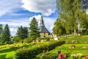 Etappe 3 Kammweg - die schöne Stadt Seiffen im Erzgebirge