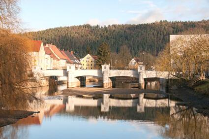 Der Albsteig Etappe 16 - der letzte Teil des Eifelsteigs, das Ziel ist Tuttlingen.