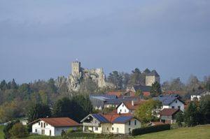 Der Albsteig Etappe 5 bis nach Weissenstein, mit tollem Blick auf die Burg.