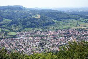 Der Albsteig Etappe 6 - bis nach Gingen führt uns heute der Weg.