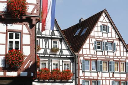 Der Albsteig Etappe 9 - Ziel dieser Etappe ist Bad Urach mit seinen wunderschönen Fachwerkhäusern.