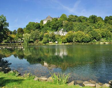 Der Eifelsteig Etappe 6, heute geht es bis ins schöne Blankenheim.