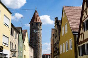 Altmühltal-Panoramaweg Etappe 2 - die Altstadt von Treuchtingen, dem zweiten Etappenziel