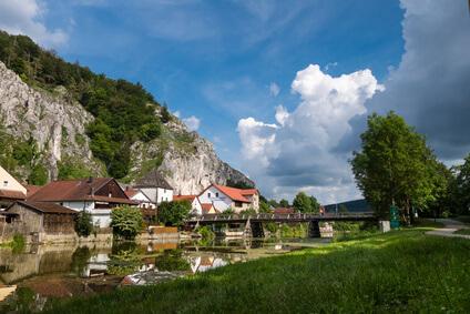 Altmühltal-Panoramaweg Etappe 9 - das schöne Riedenburg im Altmühltal