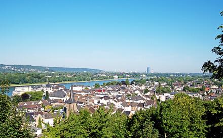 Rheinsteig Etappe 1 - das erste Ziel auf diesem tollen Wanderweg ist Köngiswinter