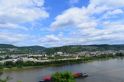 Rheinsteig Etappe 10 - heute geht es nach Niederlahnstein.