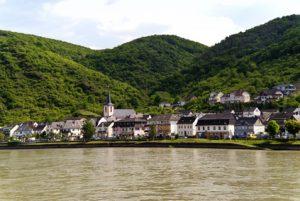Rheinsteig Etappe 13 - das Ziel der Etappe ist Kestert