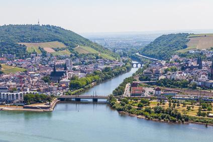 Rheinsteig Etappe 17 - der Weg führt uns heute ins schöne Rüdesheim