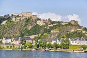 Rheinsteig Etappe 9 - Ziel heute ist Koblenz-Ehrenbreitstein