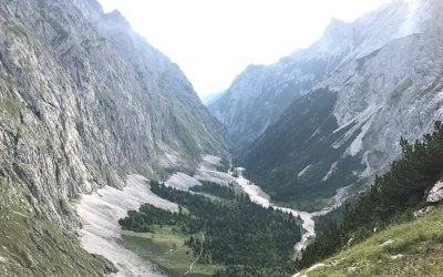 Tourbericht – Durchs Höllental auf die Zugspitze