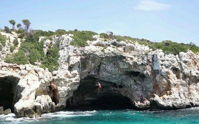 Deep Water Soloing (DWS) auf Mallorca