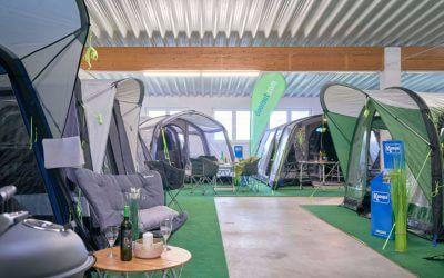 Indoor Zeltausstellung