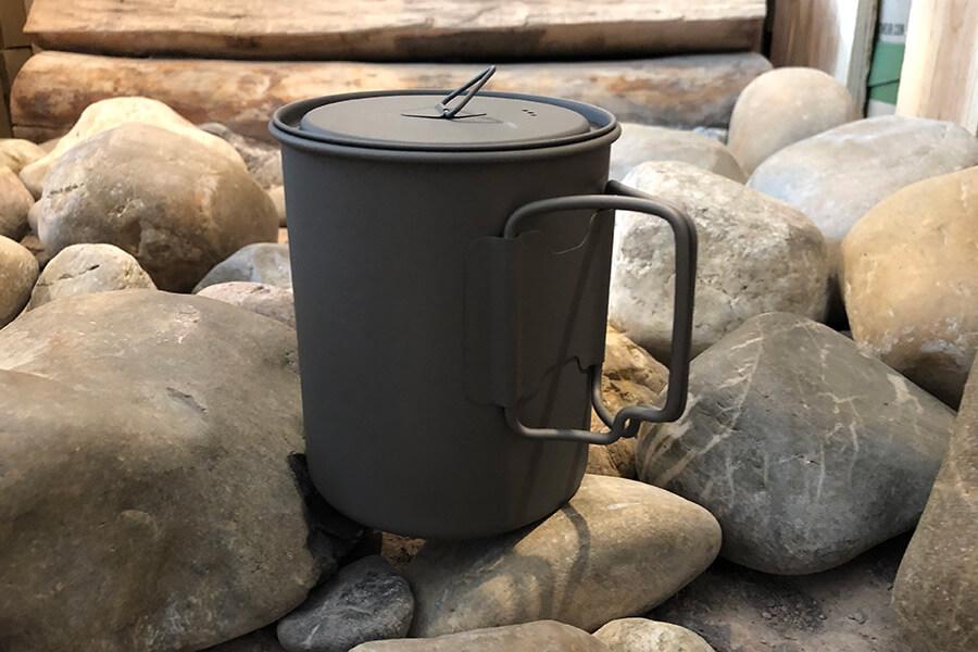 Produkttest – Esbit Titanium Pot