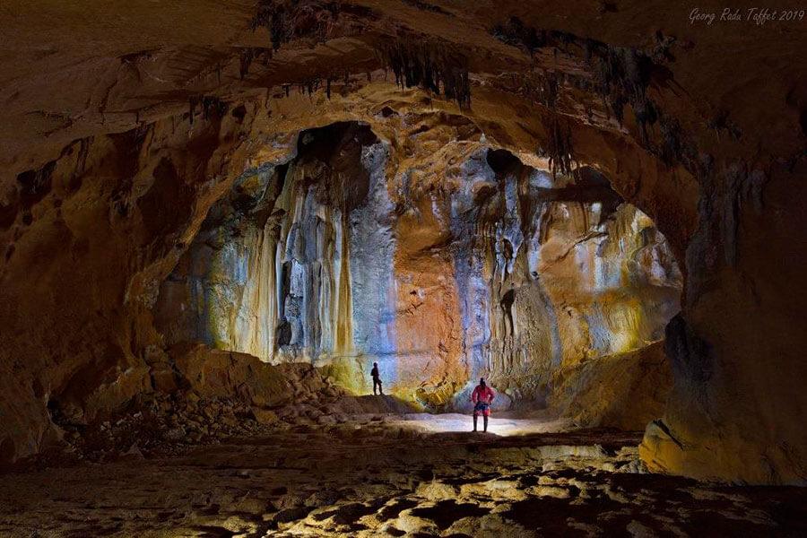 beeindruckende Höhlenlandschaft