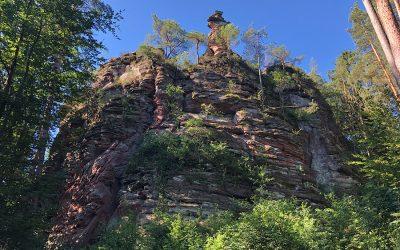 Klettern im Pfälzerwald