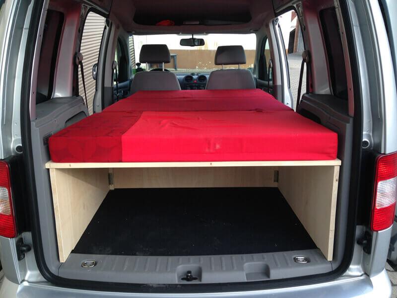 VW Caddy DIY Campingausbau