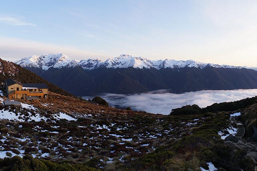 Kepler Track Neuseeland im Winter