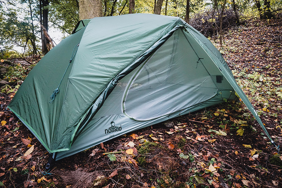 Testbericht – NOMAD Jade Tent 2 Trekkingzelt