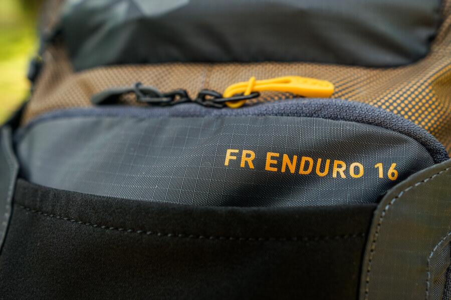 FR Enduro 16 Aufdruck