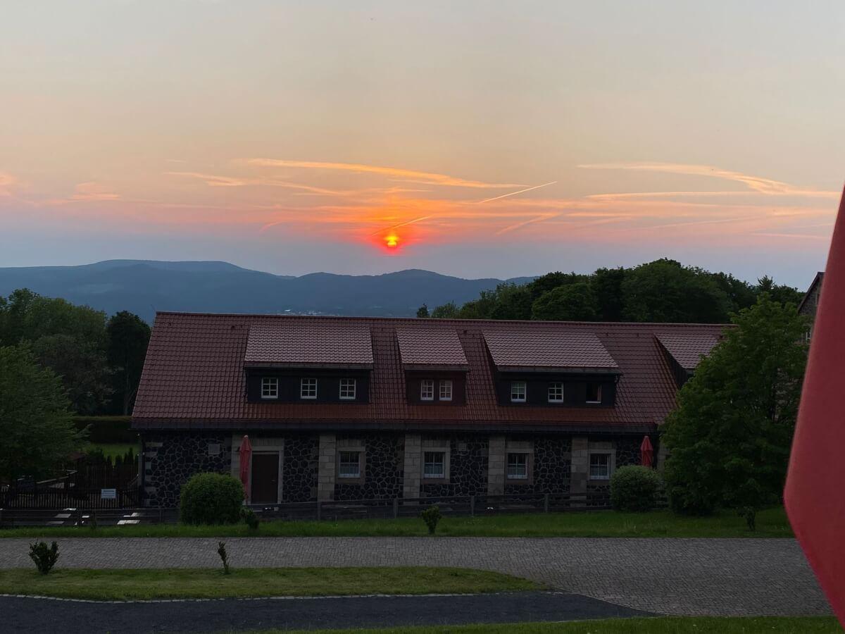 Sonnenuntergang Kloster Kreuzberg