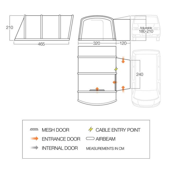 Galli III RSV Low Busvorzelt