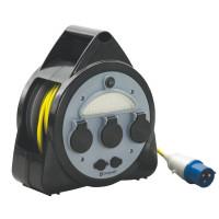 Kabeltrommel mit USB und Licht