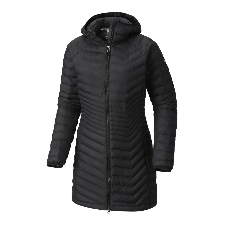 Columbia Powder Lite Mid Jacket Women Damen Outdoorjacke schwarz Gr. L Preisvergleich